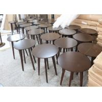 Quality Canton Modern Living Room Furniture Solid Wood Frame Wooden Top Coffee Table wholesale