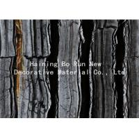 Quality Dark Colored Indoor PVC Ceiling Film Marble Effect Heat Insulation wholesale