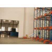 Quality Multi Deep Shuttle Storage Pallet Racks 2 Aisles With 400W Travelling Motor wholesale
