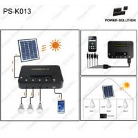 China Mini solar power system with LED lighting for home and mobile charger factory price on sale
