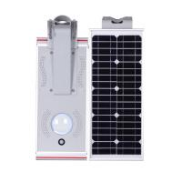 China Compact Solar Powered Outdoor Street Lights , 15W Solar Powered LED Lamp on sale