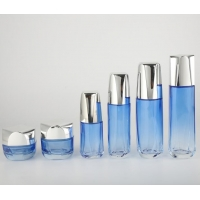 China Cosmetic Bottle Skin Care Packaging MSDS 40ml Glass Cream Jars on sale