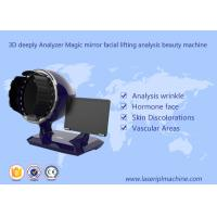 Quality 3d Deeply Analyzer Home Use Beauty Device Black Color 1 Year Warranty wholesale