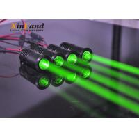 China Long Distance Green Led Laser Module / Fat Wide Beam Mini Laser Module on sale