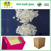 Quality Light Yellow Resin Hot Melt Adhesive Glue For Case Sealing With No Drawing wholesale