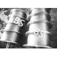 Quality High Performance Steel Wire Rope Drum , Fully Machined Lebus Grooved Drum wholesale
