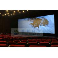 Quality Popular Mini 4D Motion Cinema Theater , bubble snow rain lighting wind Environmental effects wholesale