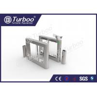 Quality Precision Fast Speed Gate Turnstile , Security Optical Barrier Turnstiles wholesale