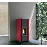 Quality Environmentally Friendly Wood Pellet Boiler Stove With 70L Water Tank wholesale