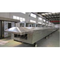 China 380 / 220V Industrial Bakery Equipment 1000mm Width Gas Tunnel Oven For Baking Cookie on sale