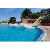 Quality Outdoor adult pool slides straight slides wholesale
