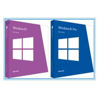 China Globally Activate online Windows 8.1 Pro 64 Bit / 32 bit OEM Package on sale