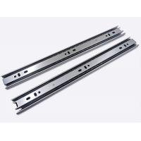 Quality Cold Rolled Steel Full Extension Ball Bearing Drawer Channel Drawer Slide 35mm 0.8*0.8*0.8 wholesale