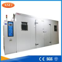Quality Touch Screen Programmable Walk In Stability Chamber 3rd Party Calibrated SGS Stainless Steel wholesale