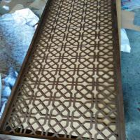 Quality hot sale aluminium decorative wall panel metal perforated aluminium screen partition wholesale