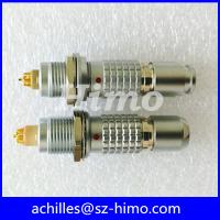 Buy cheap 1B 312 8 10 12 pin M12 lemo connector equivalent product