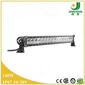 Quality Offroad led truck light IP68 led light bar single row 32 160w wholesale