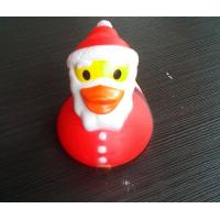 PVC Floating Personalised Santa Rubber Duck / Snowman Shaped Kids Gift