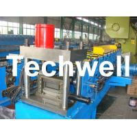 Quality 12 Forming Stations PLC Control System U Shape Roll Forming Machine for Steel U Purlin wholesale