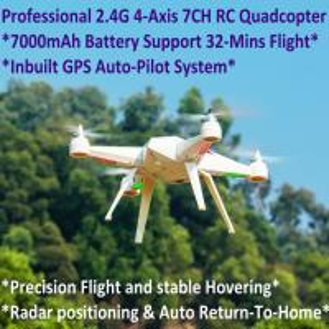 Cheap 2.4G 7CH Headless Predator RC Quadcopter Drone 32-Mins Flight & Inbuilt GPS One for sale