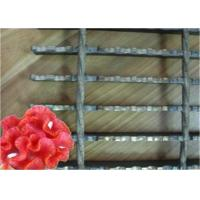 Quality Serrated Steel Grid Mesh Flooring , Sliding Resistance Steel Platform Grating wholesale
