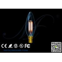 China Transparent Glass Bulb 110v 220v E14 4Watts LED Candle Lights C32 Dimmable Warm white Lamps on sale