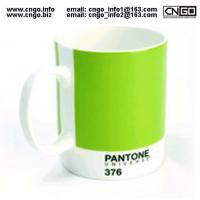 Quality Export PANTONE colors fashion cup 376.numbers love for the ceramic mug wholesale