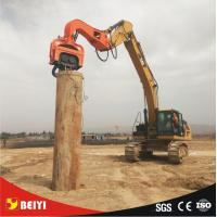 Quality Beiyi V300 hydraulic static pile driver equipment 65mm demolition hammer screw driver manufacturer wholesale