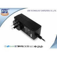 Quality Black 2 Prong 36W Switching Power Adaptor With 1.5m Cable , 84.78% Efficiency wholesale