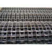 Quality Steady Running Stainless Steel Flat Wire Mesh Conveyor Belt For Drying Line wholesale