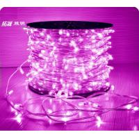 China 100m 1000leds 12V LED Fairy Clip String Lights for Outdoor Christmas Tree Decorations on sale