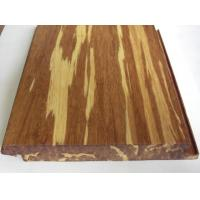 Quality Tigerwood Strand Woven Bamboo Flooring, Click lock wholesale