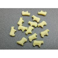 Lovely cow shape milk tablet deep milk flavor sweet and healthy