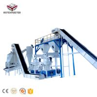 China Rotexmaster Sale Large Capacity Good Biomass Wood Pellet Chip Production Line for Power Plant on sale