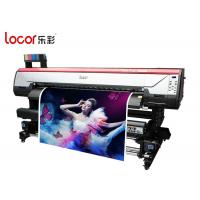 Quality Locor Eco Friendly Indoor Printing Machine For Sublimation Printing Auto Clearing System wholesale