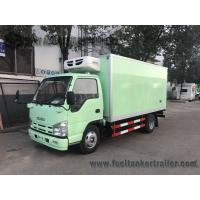 China ISUZU 15ft 1-4 Ton 6 Wheel Refrigerated Delivery Truck For Meat And Fish on sale
