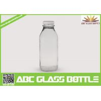 Quality Clear regular 10 oz. glass bottles for milk wholesale