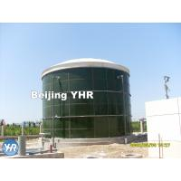 Quality 500 KN / Mm Glass Coated Steel Tanks , Water Storage 50000 Gallon Tank wholesale