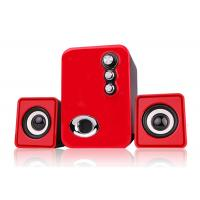 Quality RECCAZR USB 2.1 Channel Speakers , Computer Stereo Speakers Multimedia wholesale