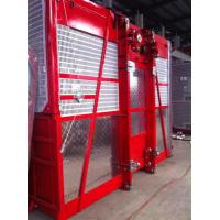 Quality 1600kg Double Cage Mast Construction Material Hoist High Reliability , Passenger Hoist wholesale