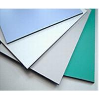 Quality 3003 Series Dupont Polymer Adhesive Silver Color 5mm Aluminum Exterior Commercial Building Wall Panels wholesale