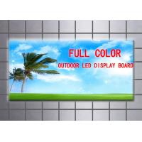 Quality Full color Outdoor LED display Board, DC5V P25 (2R1G1B) screen billboard Size 200*200 wholesale