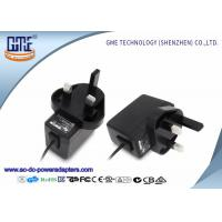 Quality UK Plug 12V 0.5A Wall Mount Power Adapter for Recorders , 1.5m Typical Cable wholesale