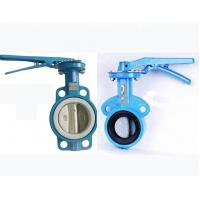 China Wafer Type Butterfly Valve 3DN80 CAST ductile iron body disc EPDM EPR Sanitary on sale