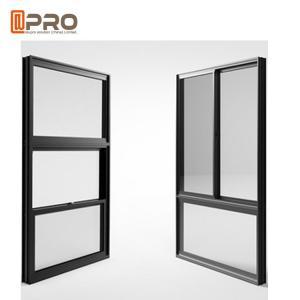 Quality American Single Double Hung Thermal Break Aluminum Window / Vertical Sliding Sash Window wholesale