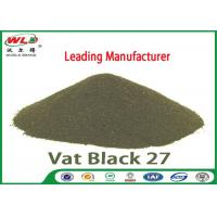 Quality C I Vat Black 27 Olive R Black Cotton Dye Textile Dyeing Chemicals wholesale