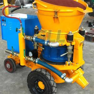 Quality 3m3 Per Hour Refractories Cement Spray Machine , 4KW Small Concrete Pump wholesale