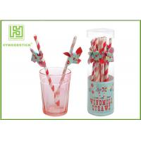 Quality Nice Colorful Windmill Party Paper Straws In Bulk For Anniversary Decorations wholesale
