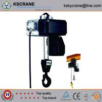 Quality Attractive and reasonable price Low Clearance Double Speed Electric Chain Hoist wholesale