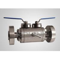 Quality DBB Ball Valve Double Block & Bleed, Double Ball, Flanged / Screw End wholesale